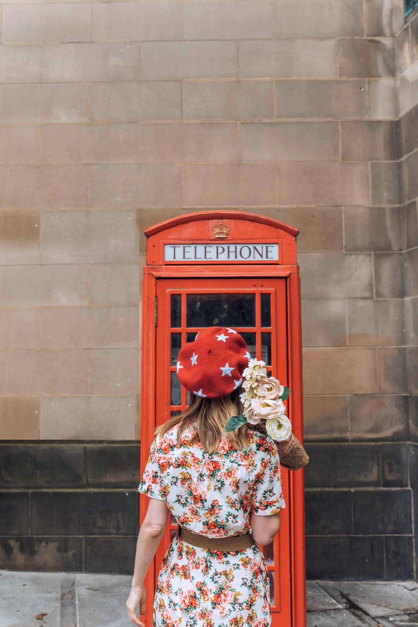 manchester phone booth