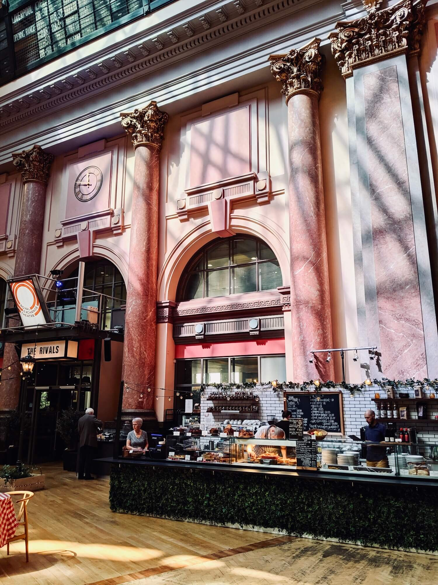 royal exchange theater cafe
