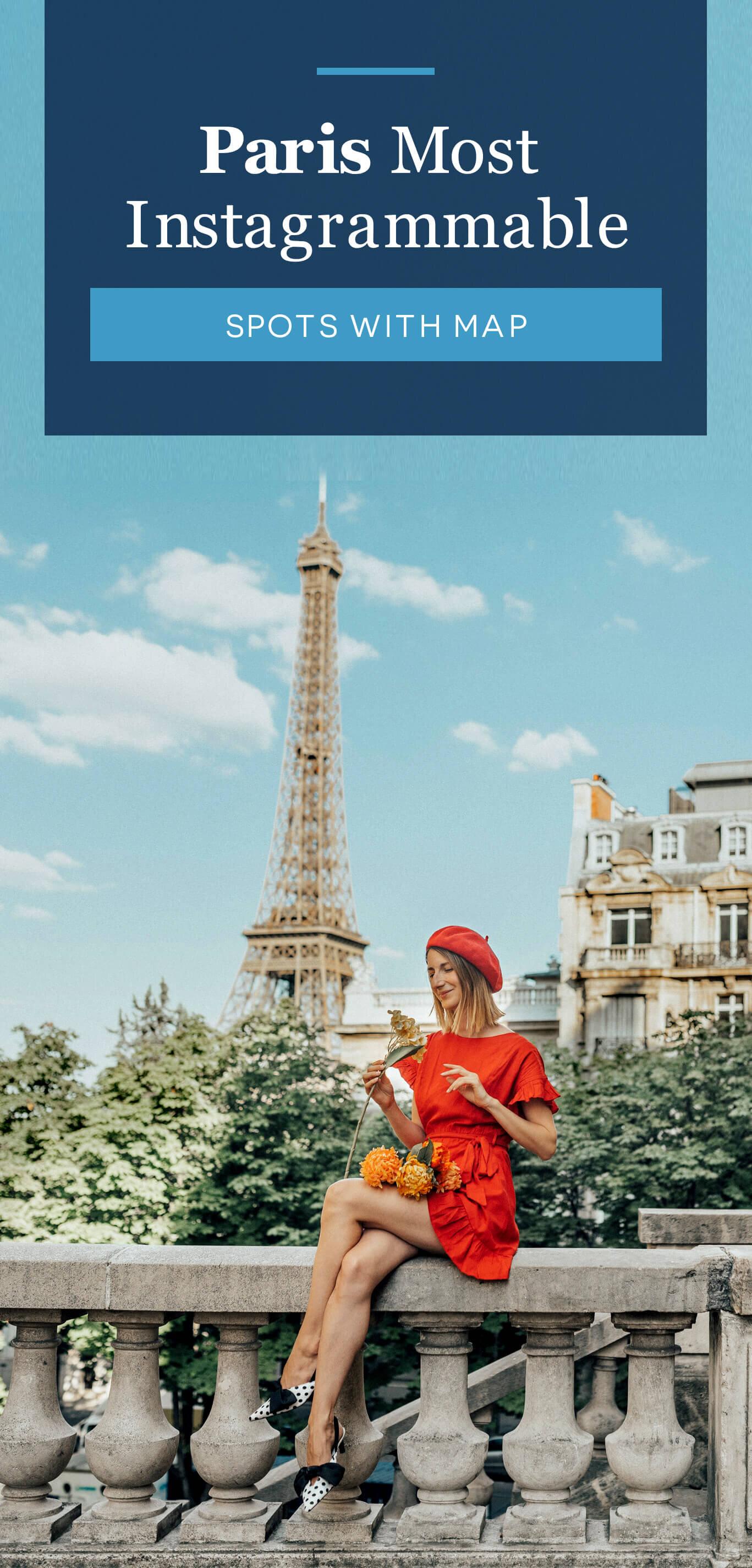 Paris Most Instagrammable Spots