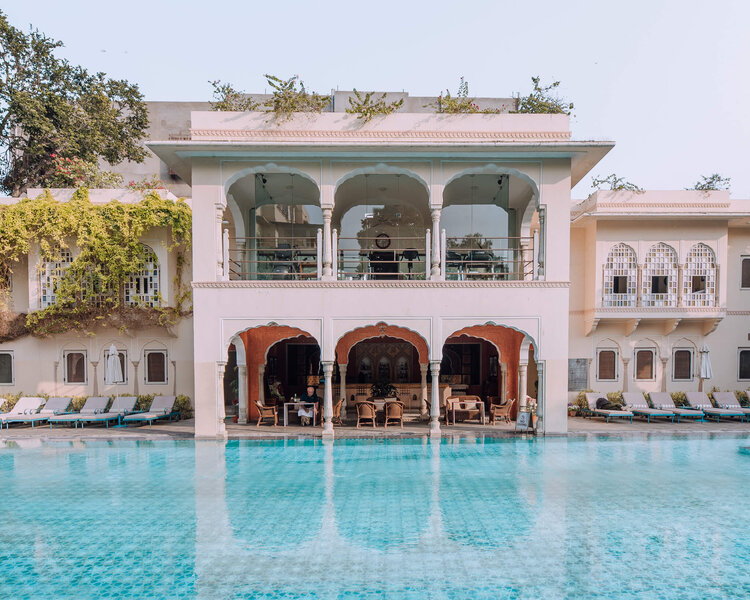 samode haveli pool