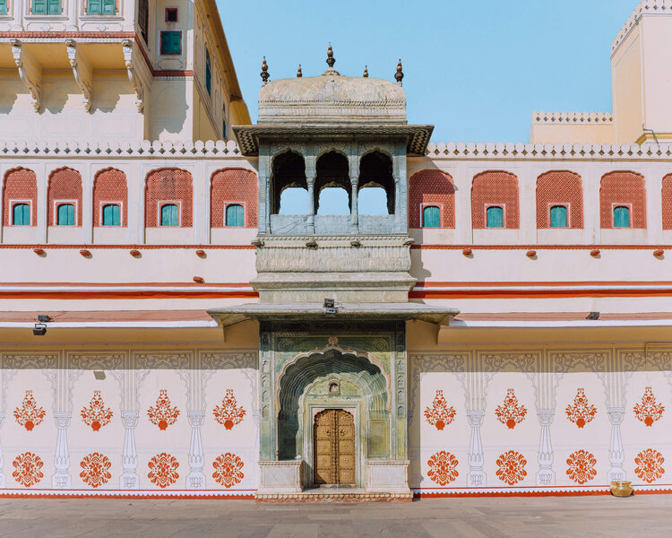 leheriya gate city palace jaipur