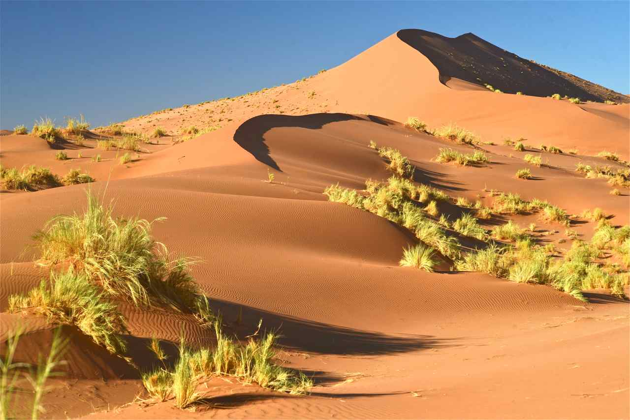 Sossuvlei fabulous sand dunes