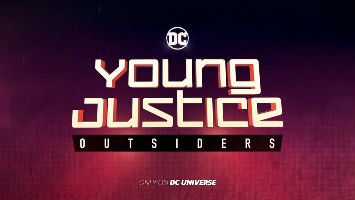 Young Justice: Outsiders logo via DC Comics.