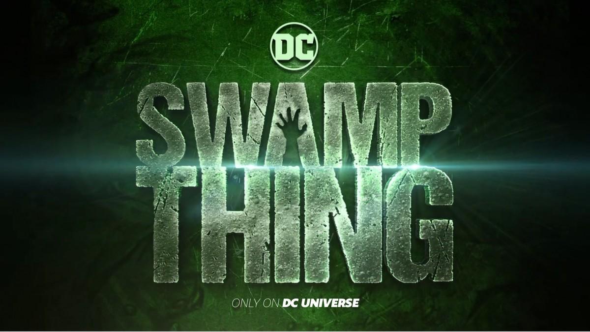 Swamp Thing Logo via DC Comics.