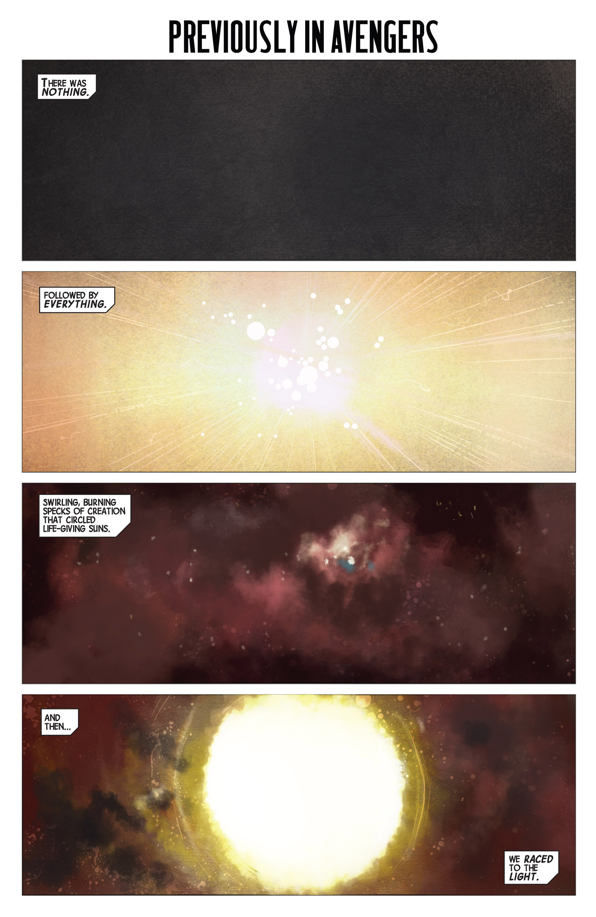 Avengers #1, art by Jerome Opeña and Dean White