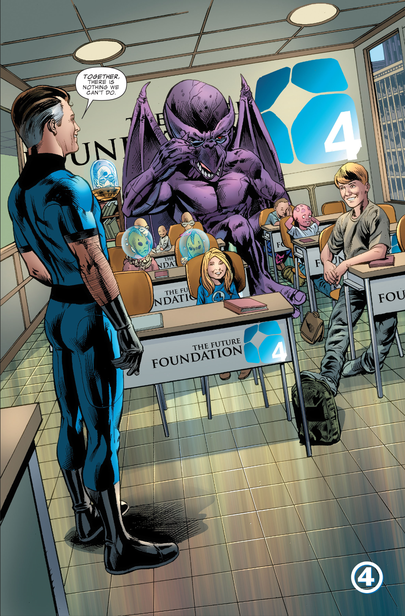 Fantastic Four #579, art by Neil Edwards, Andrew Currie, and Paul Mounts
