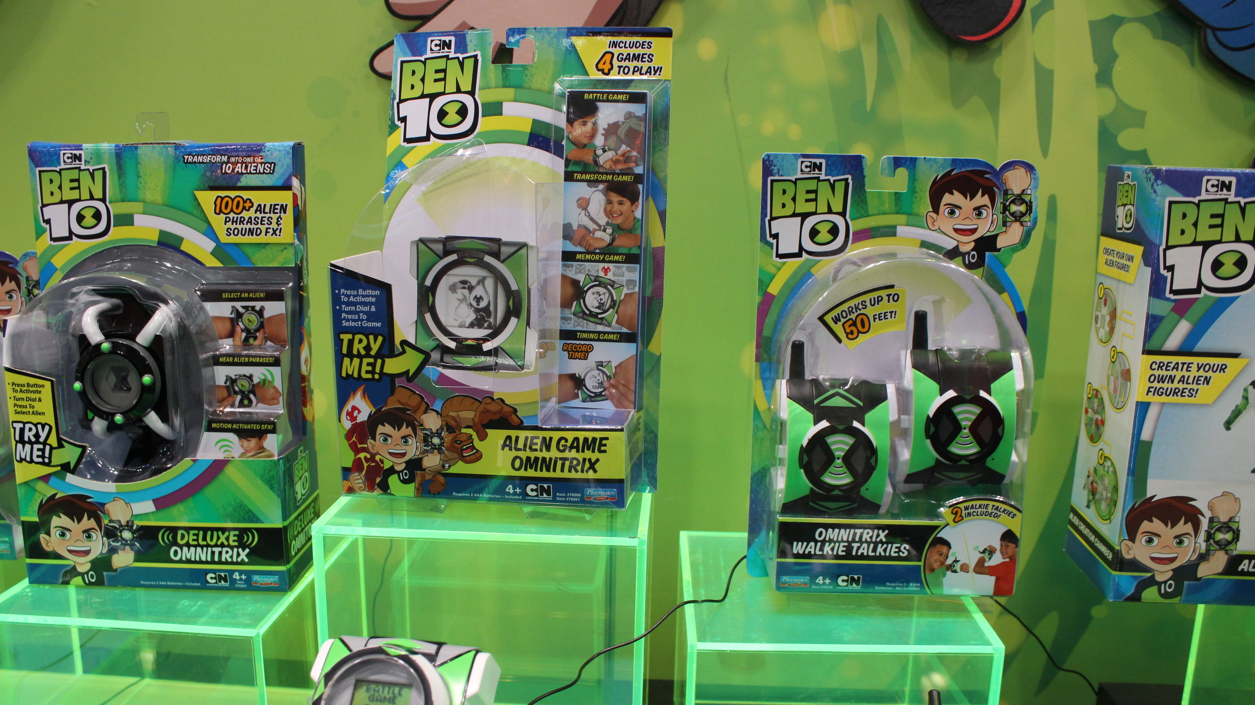 Playmates Ben 10 Display // NYTF2019 — You Don't Read Comics