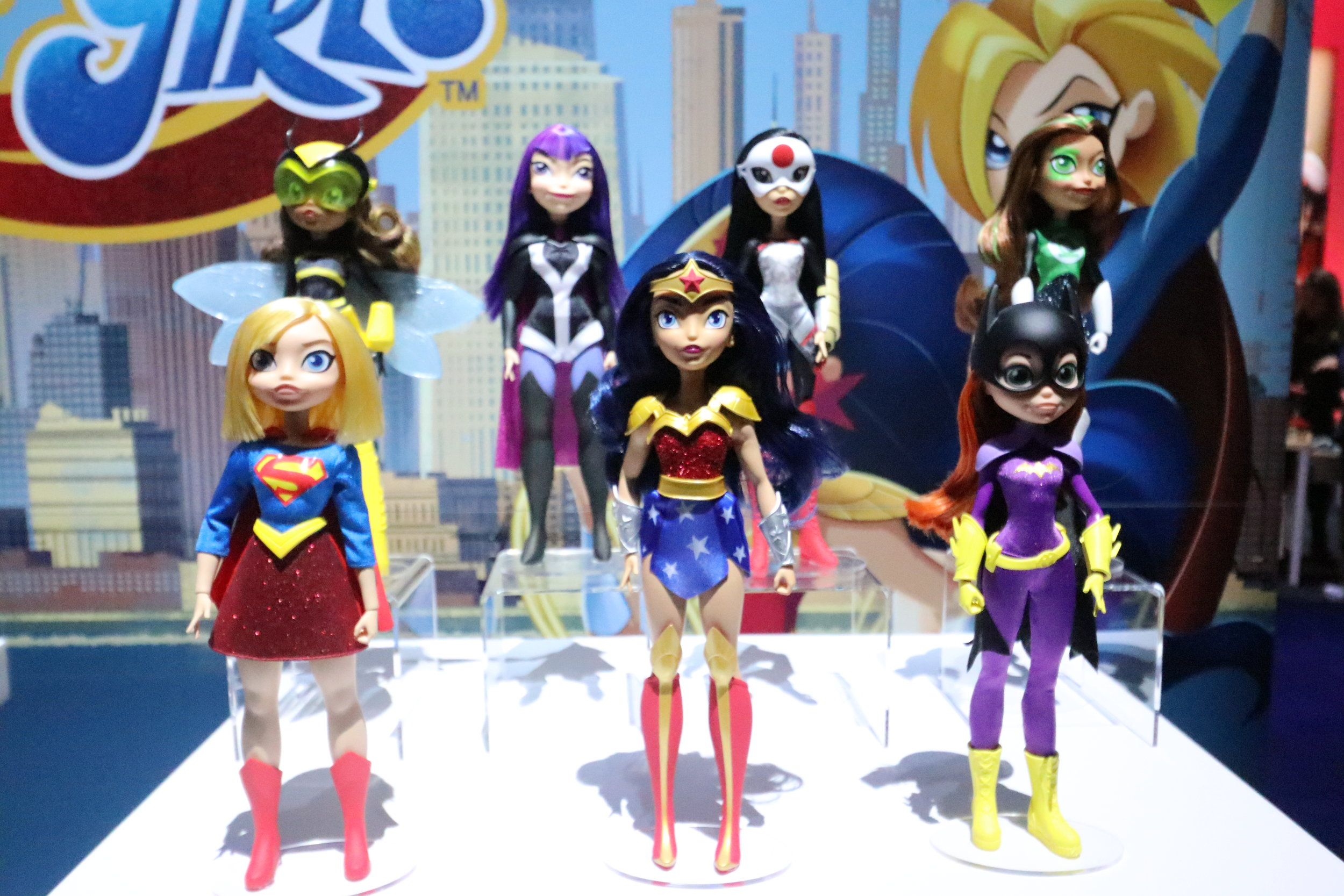 Mattel DC Super Hero Girls // NYTF2019 — You Don't Read Comics