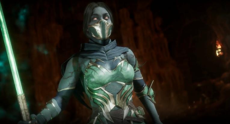 """Jade's """"desexified"""" character design from Mortal Kombat 11 via Netherrealm Studios"""