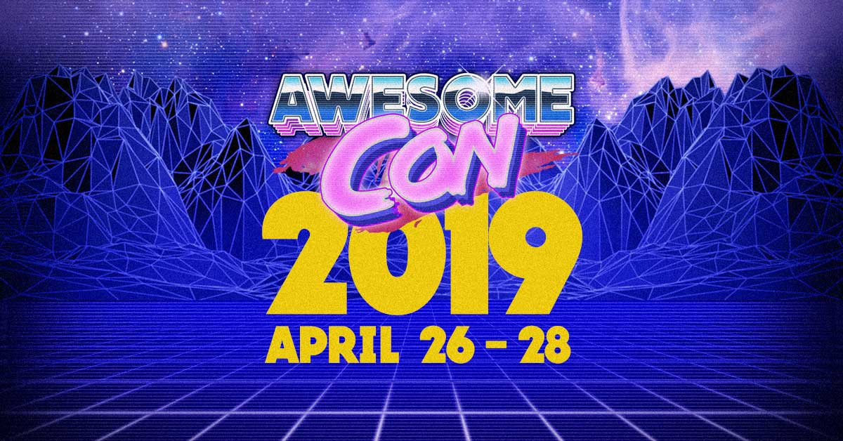 Awesome Con 2019 logo. Image credit: awesome-con.com