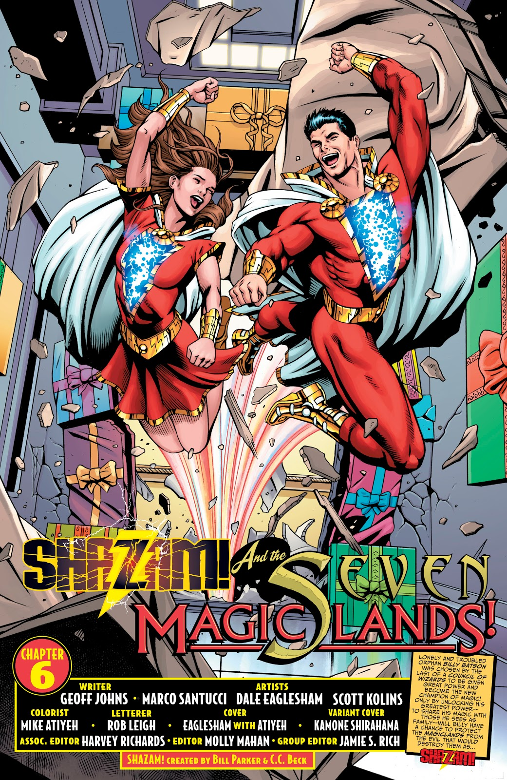 Shazam #6 // Review — You Don't Read Comics