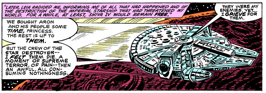 Good ol' Claremont and his purple prose.
