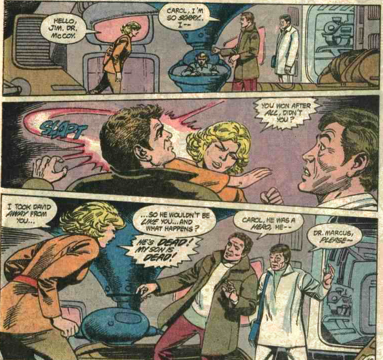 Star Trek was a little more serious than Star Wars.