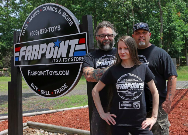 The team behind Farpoint.   Photo credit:  Penelope Daniels.