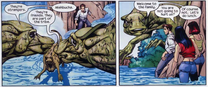 Oh, and Hadrosaurs are also Jewish. This also feels racist.