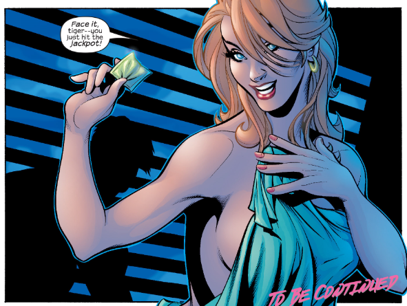 Also, May looks a lot like Mary Jane Watson. Oedipus had it easier than Peter does