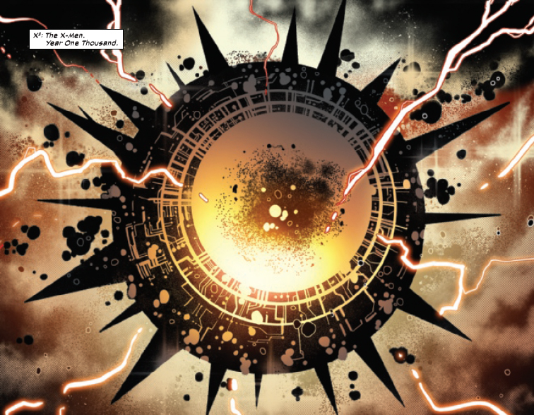 From Powers of X #5 by Jonathan Hickman, RB Silva, Marte Gracia, and Clayton Cowles