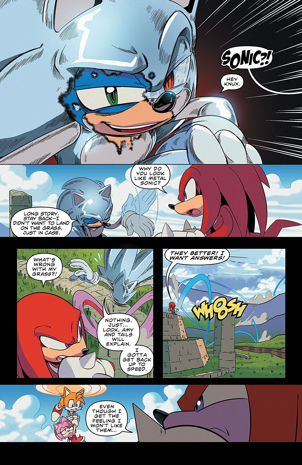 Sonic The Hedgehog 25 Review You Don T Read Comics