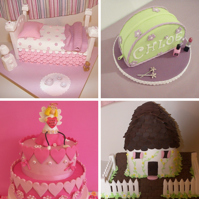I loved the creativity of cake decorating and making something out of nothing…