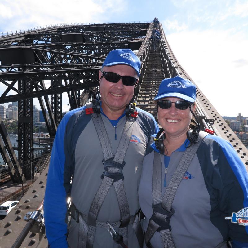 Climbing the Bridge