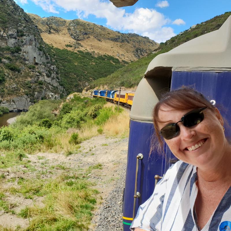 Dunedin Train Ride