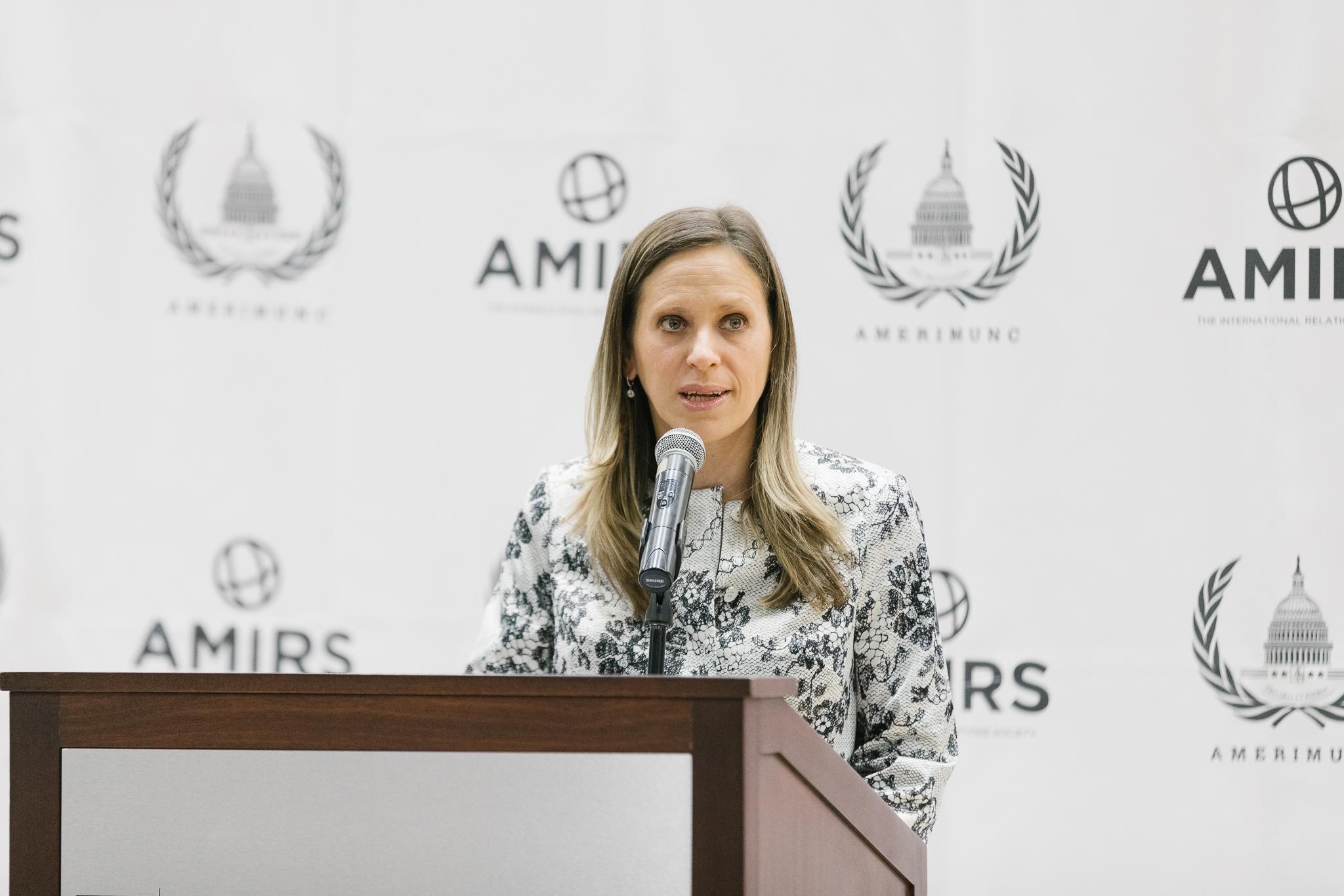 AmeriMUNC v Keynote speaker  Cecilia Nahon | Ambassador of Argentina to the united states