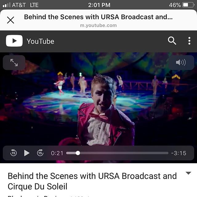 The #bts video of our #blackmagicdesign and #cirquedusoleil shoot just dropped on the BM YouTube page! Go check it out! Link is in the bio!!! It was an amazing collaboration with @losnativs @moaifilms and @rebelstudios! #vegas #nabshow #producionlife #multicam #cirque  Big thankyou to the crew @jmannfilms @chris_m_mann @lukascolombo @carloslopezdrums @ninobuzz @pkincorporated @connordutt @ryderdesigns