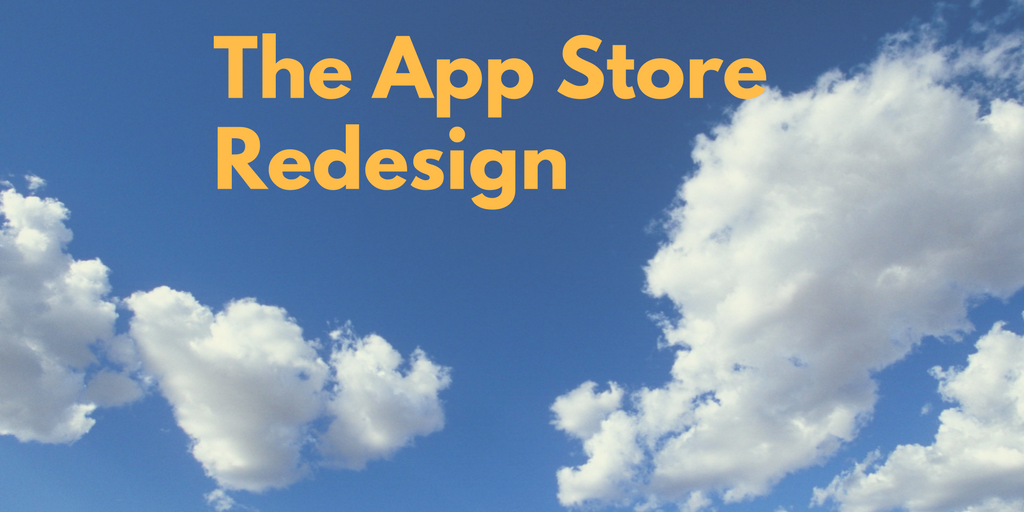 What impact might the App Store redesign have on indie game developers?