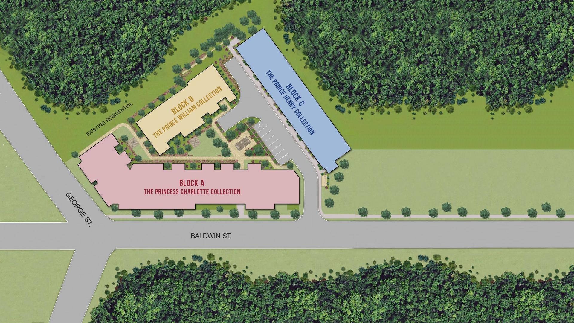 Prince George Landing Site Plan
