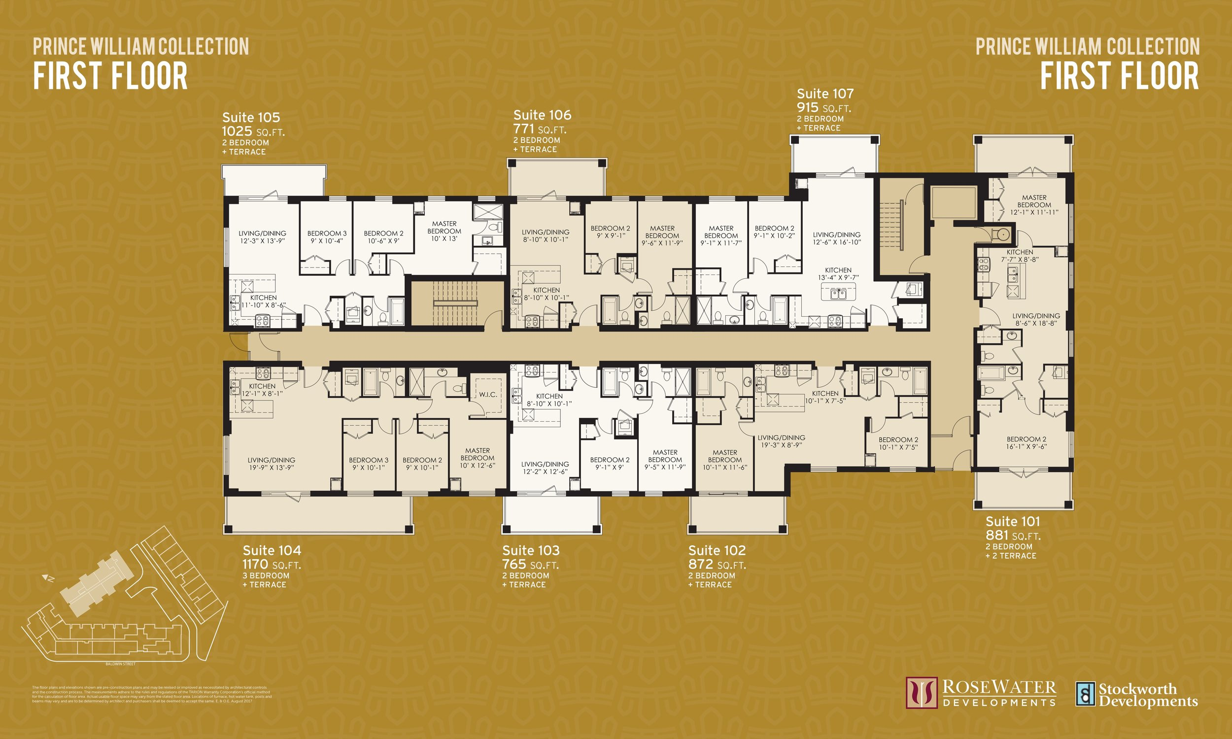 Prince William First Level Floor Plan