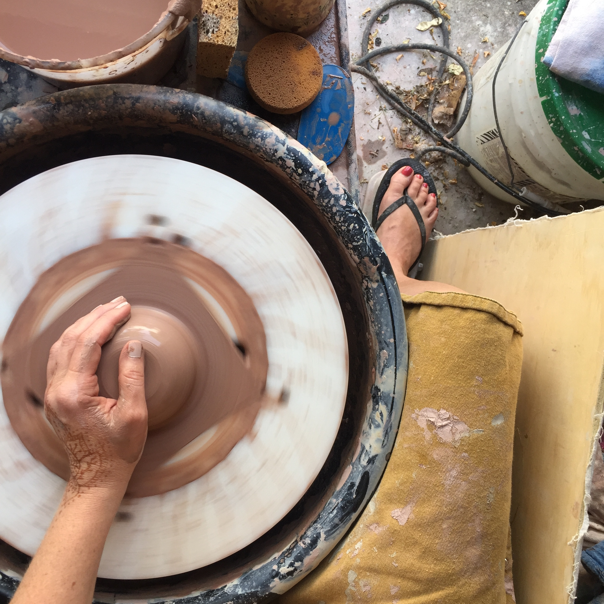 - If you would love to play with clay on a Saturday morning with me, click this button to reserve your spot! Only 2 slots available for May — we're going to test this out and see how it goes!