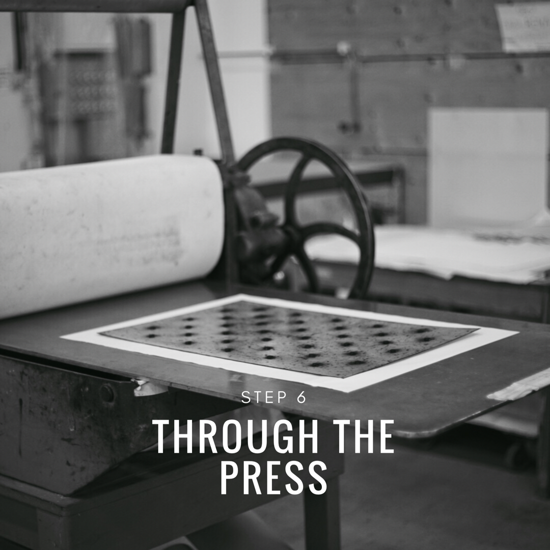 IPrinting a collagraph - step 6