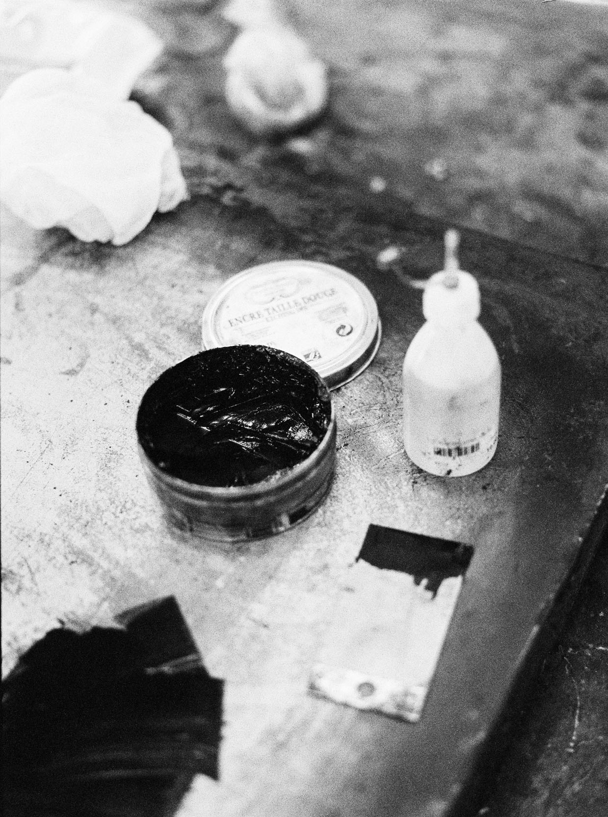 Ink for collagraph print