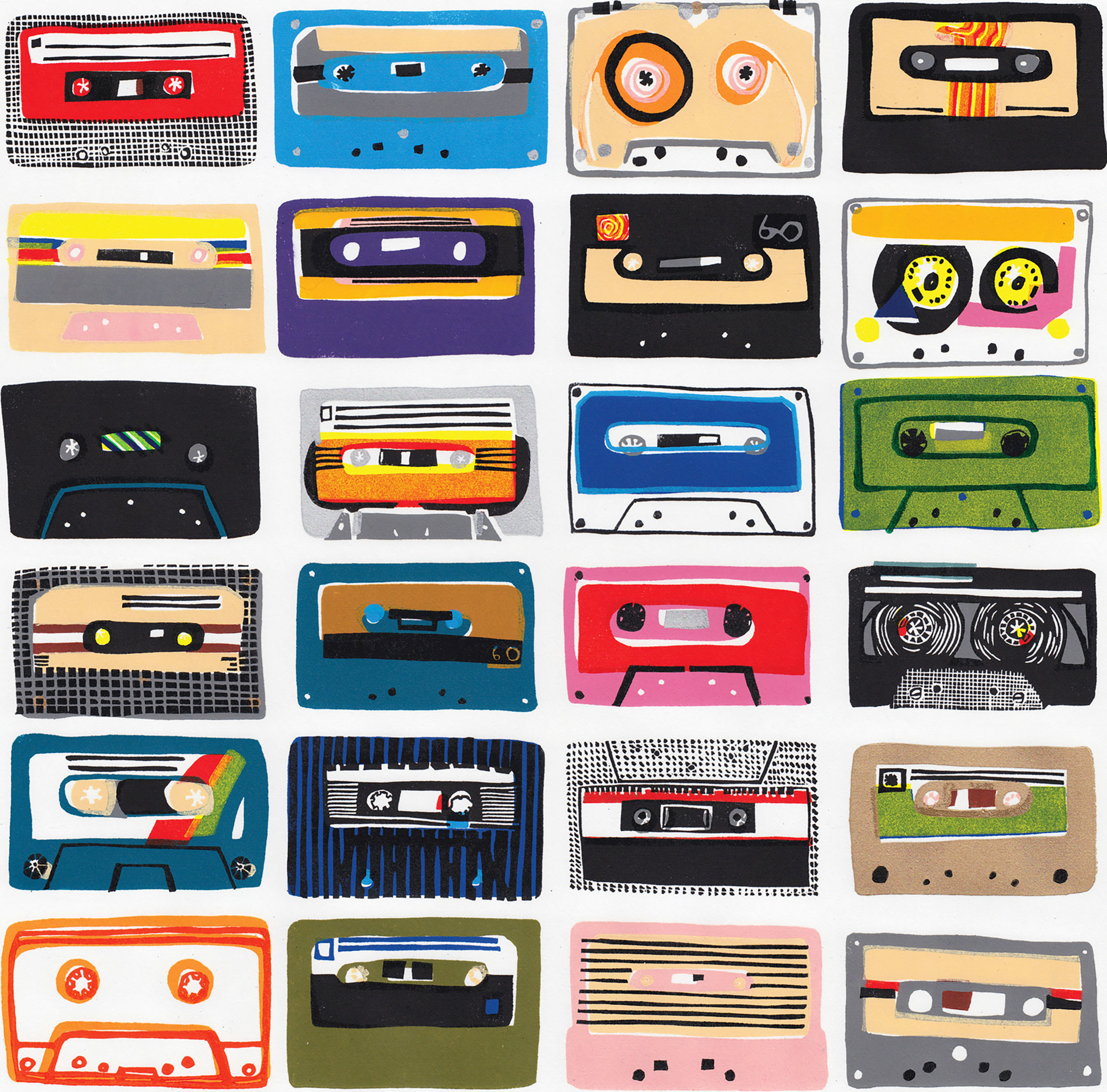 Cassette Tapes B Side by Hannah Forward