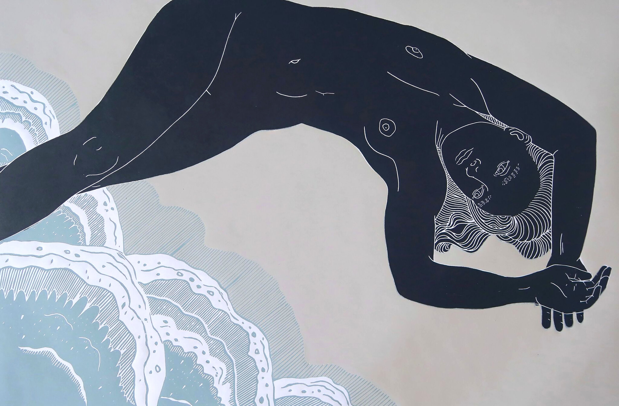 Meandering Bodies by Ellen Von Wiegand