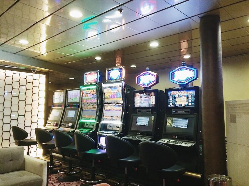 A casino corner.