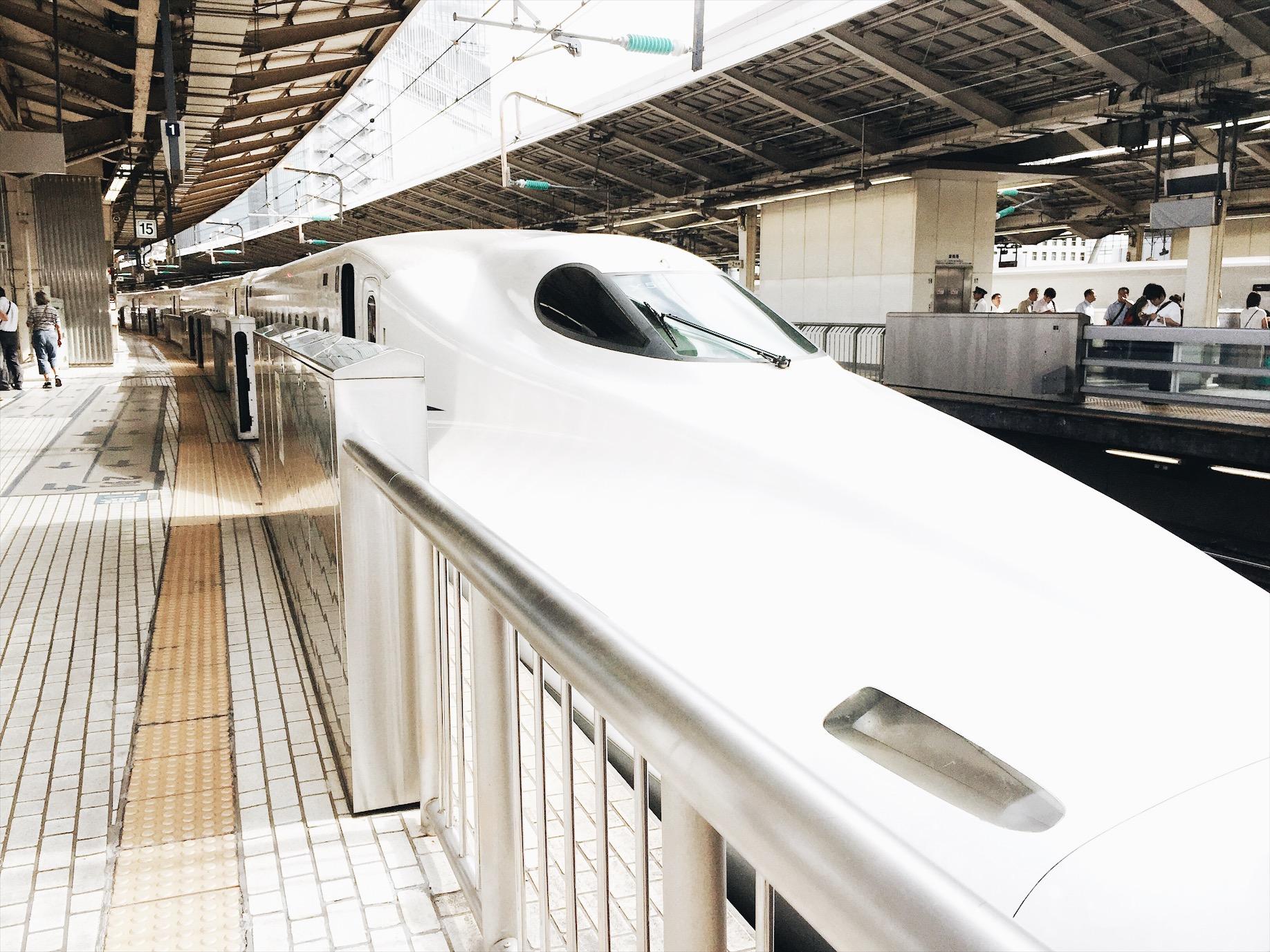 Japan first-timer: Shinkansen -  Ruthvcp.com