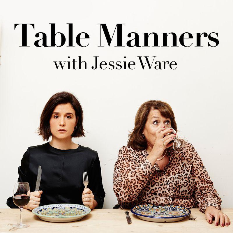 Table Manners with Jessie Ware - First of all, saya suka banget dengan konsep podcast ini: ngobrol sembari makan bareng figur publik. Uniknya lagi, para tamu disuguhi sajian rumahan dari ibunya Jessie, yang juga ikut ngobrol di podcast ini. Konsep tersebut sukses memperlihatkan sisi personal dari tiap tokoh yang diundang — karena merasa lagi ngobrol santai di rumah aja. Contohnya, lewat ini saya jadi tahu bahwa Ed Sheeran orangnya pemalu dan agak tertutup, meski punya pemikiran yang unik. Jessie's mum is also such a lovely mother! Tamu-tamu favorit saya di Table Manners sejauh ini adalah Wali Kota London Sadiq Khan, Randy Jackson, dan Sam Smith.Image credit: Acast