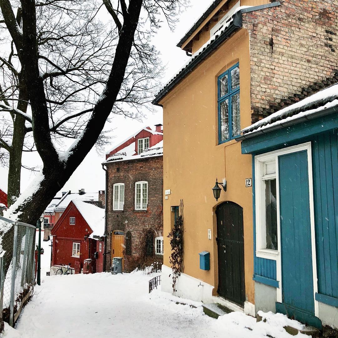 Norway - Sebenarnya Cassandra Niki ini bukan selebgram—hanya seorang fotografer, blogger, dan penulis yang udah lama saya ikuti blog dan Instagram-nya. Sayangnya karena sudah fokus menekuni dunia fotografi, Cass nggak melanjutkan blognya lagi. Anyways, dia sekarang adalah fotografer yang based in Oslo, Norwegia, dan sometimes masih suka ke San Fransisco, AS, tempatnya menempuh pendidikan dulu. And whenever she's in Oslo, foto-fotonya selalu bikin saya berandai bisa menikmati winter di up north sana. There's always something magical about her neighborhood—and her photos! Lihat aja fotonya yang ini, gimana nggak bikin mupeng coba?Image credit: Instagram