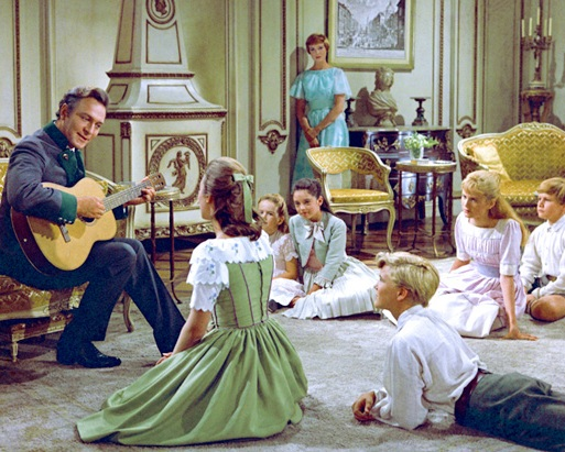 The Sound of Music (1965) - I live by the soundtracks and the hills in my heart are alive with The Sound of Music. There won't be enough words to explain how much I love the movie. It's beautiful, it's great, it's everything. Watching it is such an experience. All the things I found in the movie are real and solid: the romance, the humor, the musical numbers, the scenery... everything. I really think nothing beats this timeless classic. And no one scores like Julie Andrews and Christopher Plummer in any musicals. I'm totally a big fan!Image credit: online-inquirer.com
