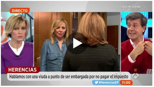 Fuente: Antena3. Programa Espejo Público