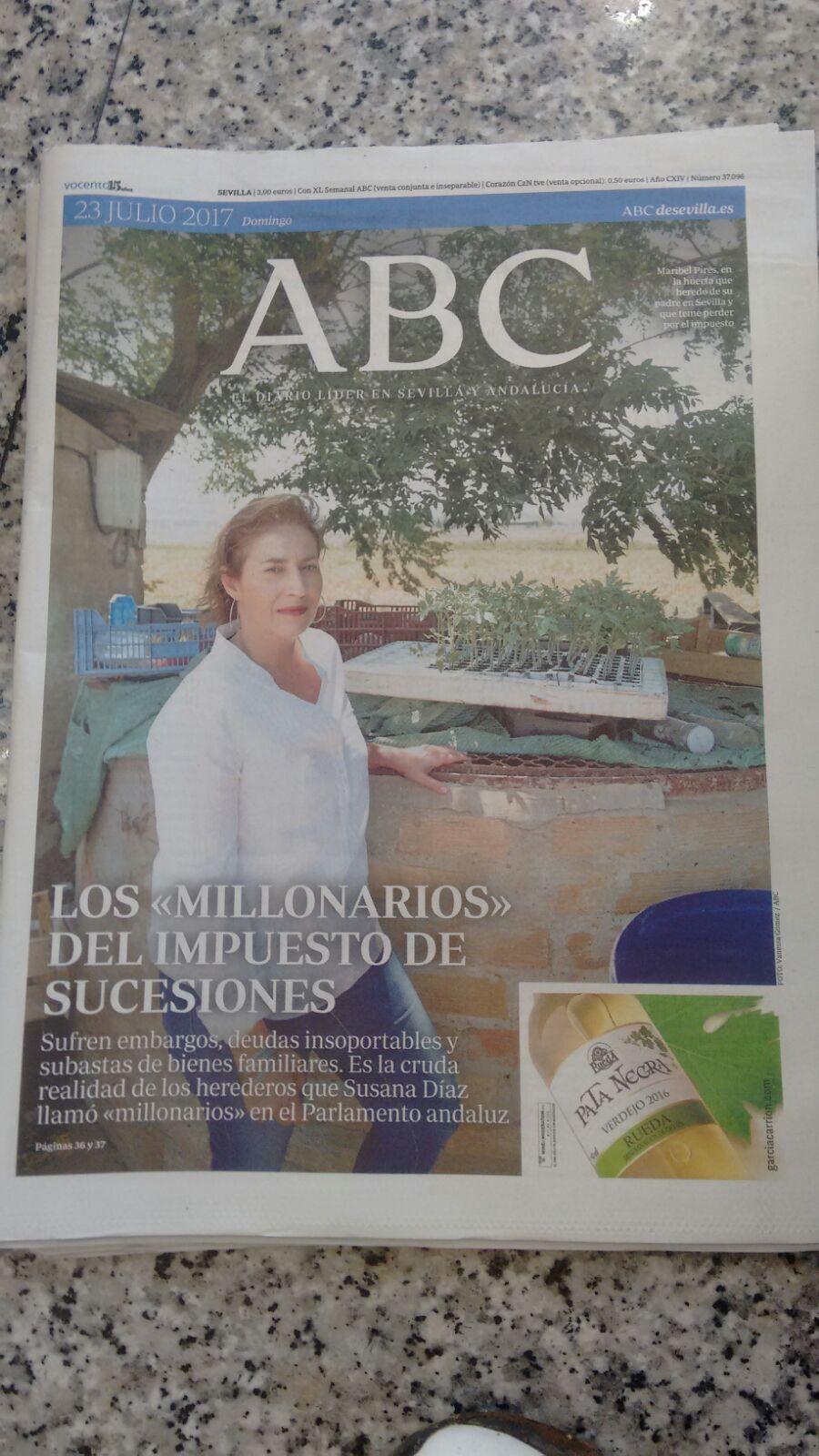 Portada ABCdeSevilla más información en:http://sevilla.abc.es/andalucia/sevi-cruda-realidad-millonarios-impuesto-sucesiones-andalucia-201707230826_noticia.html