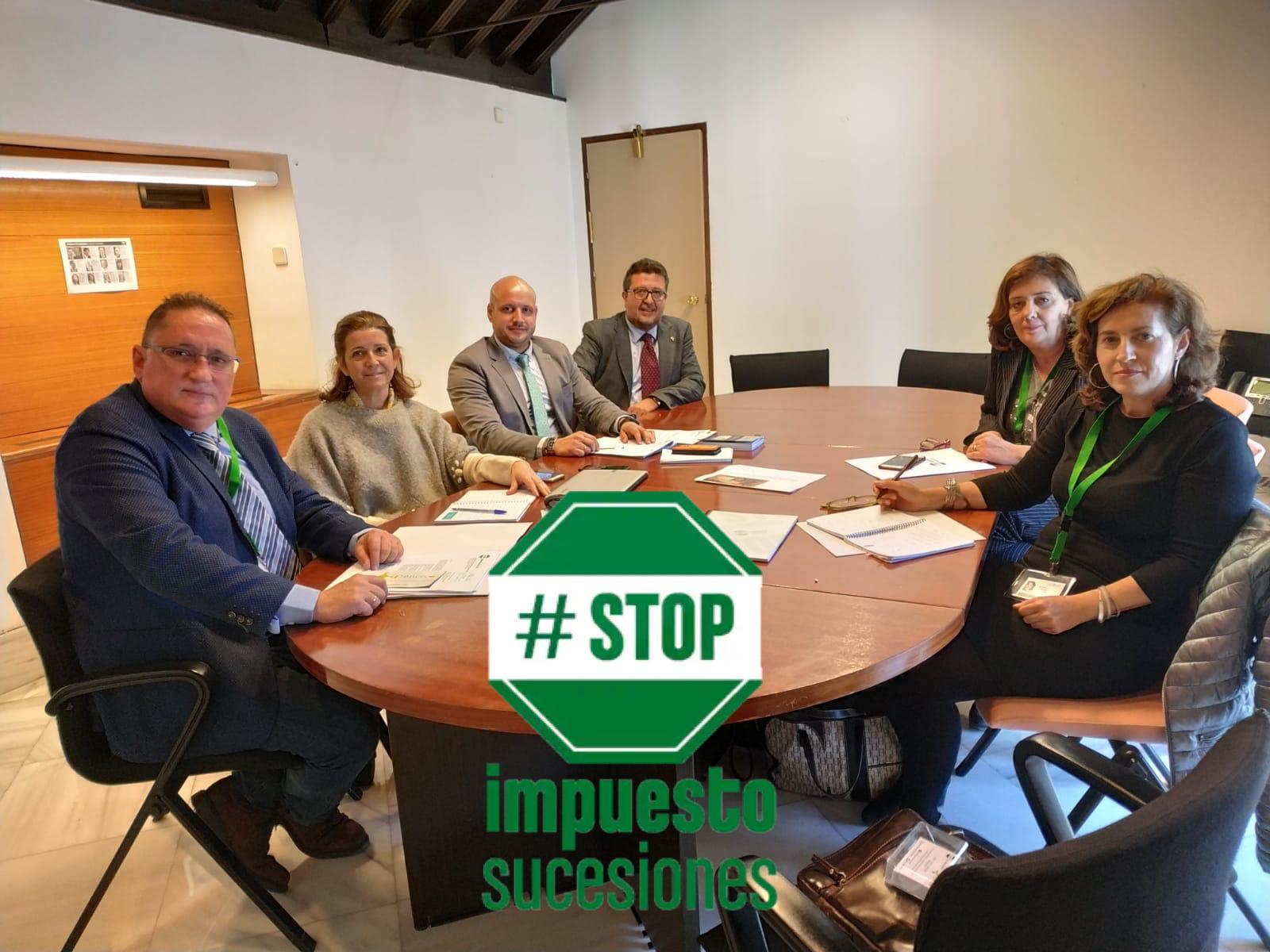 Directiva de STOP Impuesto Sucesiones junto con VOX