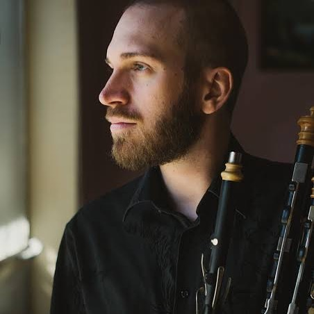 Matt Horsley plays the uilleann pipes, also known as the Irish Bagpipes. He is currently studying a PhD in ethnomusicology at Monash University, and has previously completed a bachelor of music studying percussion. We're wondering if he might bring some of his favourite percussive objects along to improvise with next Tuesday August 27th at the Espy! . . . . #ossicle #duo #melbourne #contemporary #music #concert #shredding #uilleann #pipes #improvisation #hotel #esplanade #horsley #williams #percussion