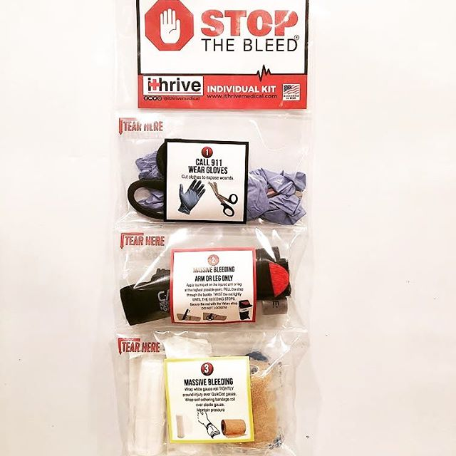 IThrive is proud to announce that our new Express Bleeding Control Kit is now on sale. It's compact, and half the price of our Advanced Plus Kit with the same great easy-to-use segmented packaging! #stopthebleed #firstaid #tourniquet #edc #firstaidkit #trauma #ithrivemedical #aed #narescue