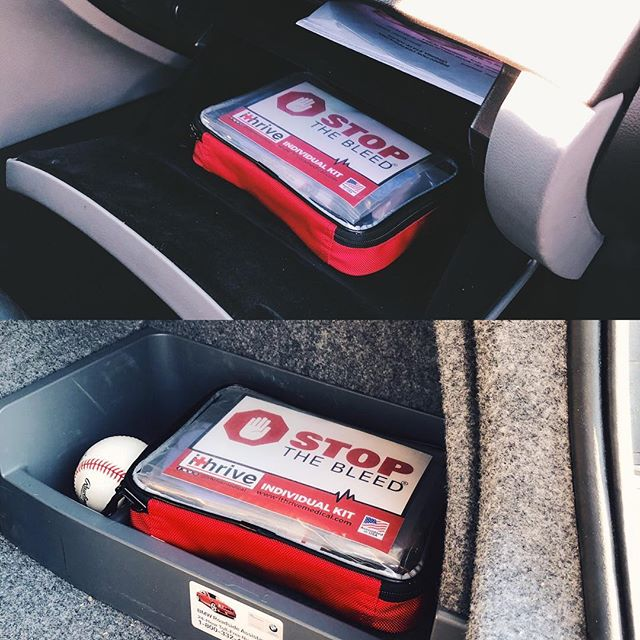 The world has changed. iThrive offers a modern day first aid kit to meet today's needs. #stopthebleed #firstaidkit #ithrivemedical #tourniquet