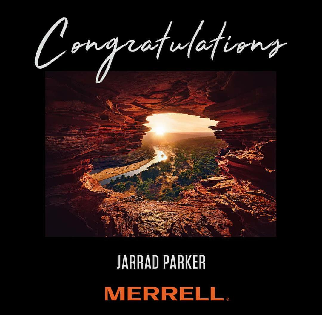 Merrell Australia -   Outdoor Australia Photo Competition .  -Winner-