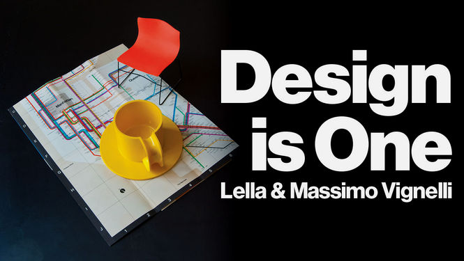 "Design is One: Lella & Massimo Vignelli  (2012)    From the film's website:    ""If you can't find it, design it"" is the motto of the Vignellis, whose renowned work ranges ""from the spoon to the city."" Kathy Brew & Roberto Guerra's film brings us into the Vignellis' world, capturing their intelligence and creativity, as well as their humanity, warmth, and humor."""