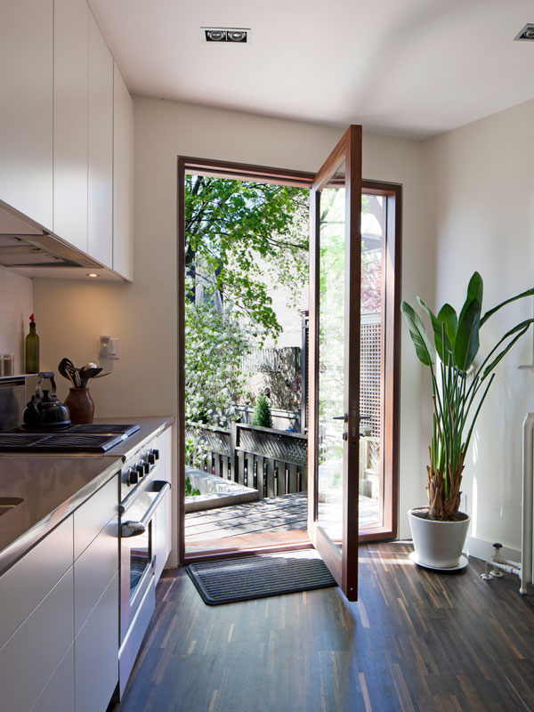 Custom Oversized Mahogany Wood Door