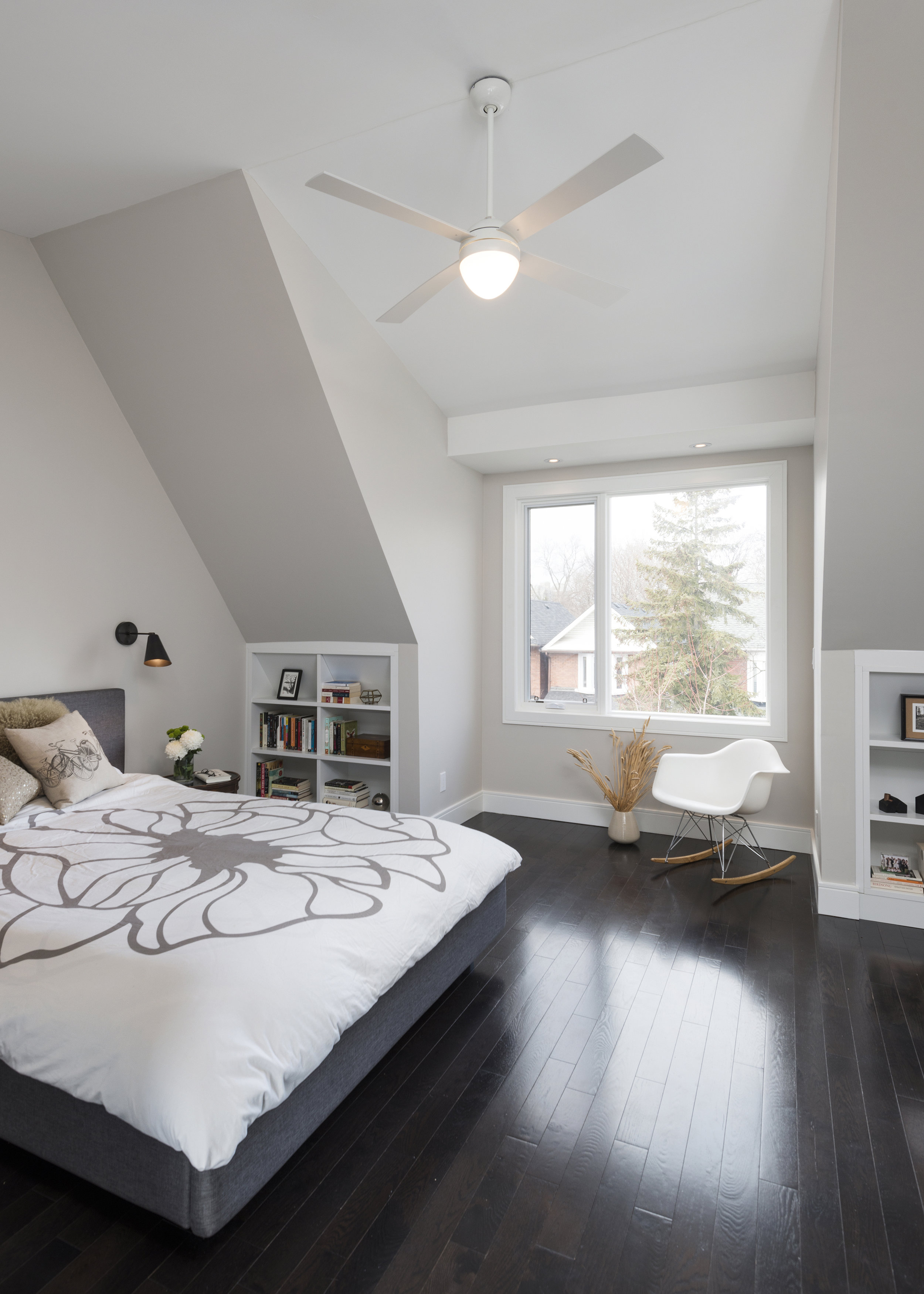 Attic Addition, 11' loft style Cathedral ceilings